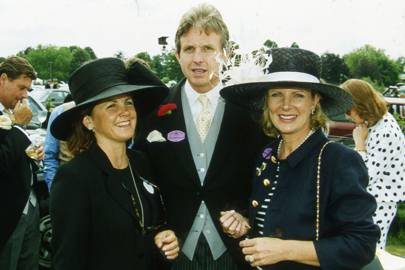 Mrs Nicholas Day, Lord Valentine Cecil and Georgiana Bronfman