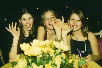 Imogen Munsey, Jessie Newton and Celia Beale