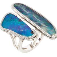 Opal and diamond ring, POA, Nourbel Cavalier