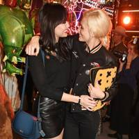 Daisy Lowe and Poppy Delevingne