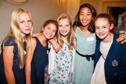Madeleine Grayling, Emily Dobson, Poppy Hooper, Isabelle Santiago and Susie Garvie
