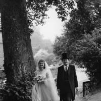 Auberon Waugh and Sophia Watson