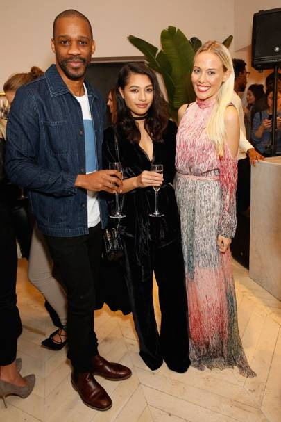 Mikey Abegunde, Vanessa White and Charlie Boud