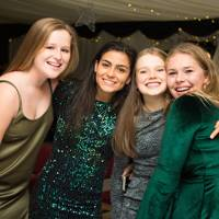 Cat Tipplady, Katie Chopra, Hannah Swinney and Libby Gilbert