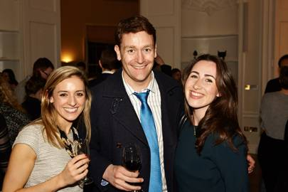 Libby Amos, Joe Inwood and Jessica Medus