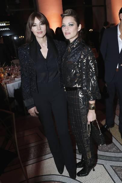 Monica Bellucci and Marion Cotillard