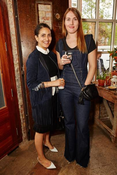 Nura Khan and Naomi Smart