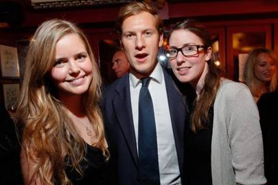 Katie Readman, James Tussaud and Emma Readman