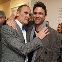 Dougray Scott and A. A. Gill