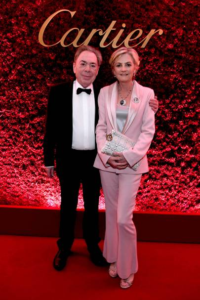 Lord Lloyd Webber and Lady Lloyd Webber