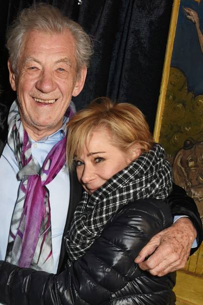 Sir Ian McKellen and Zoë Wanamaker