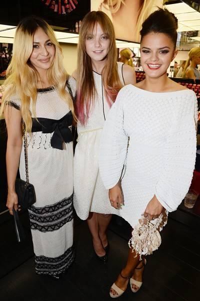 Zara Martin, Lauren Heyden and Bip Ling