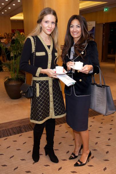 Sophia Vugolyuvor and Layla Decoste