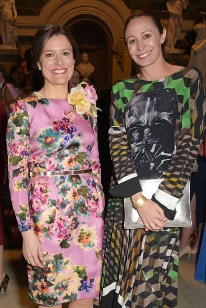 Miriam Gonzalez Durantez and Caroline Rush