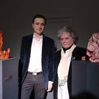 James Cahill and Maggi Hambling