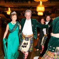 Iona, Duchess of Argyll and the Earl of Kinnoull