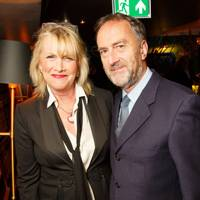 Louise Fennell and Angus Deayton