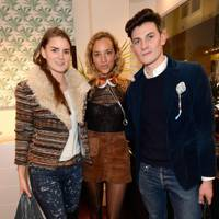 Charlotte Rey, Phoebe Collings-James and Duncan Campbell