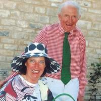 Mrs Angus Irvine and Angus Irvine