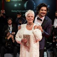 Dame Judi Dench and Ali Fazal