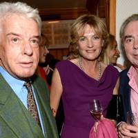 Nicky Haslam, Lady Lloyd Webber and Lord Lloyd Webber