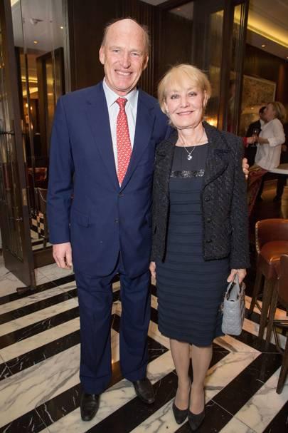 John Gosden and Rachel Hood
