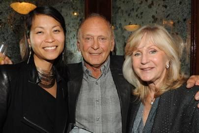 Platina Tong, Brian Stein and Liz Brewer
