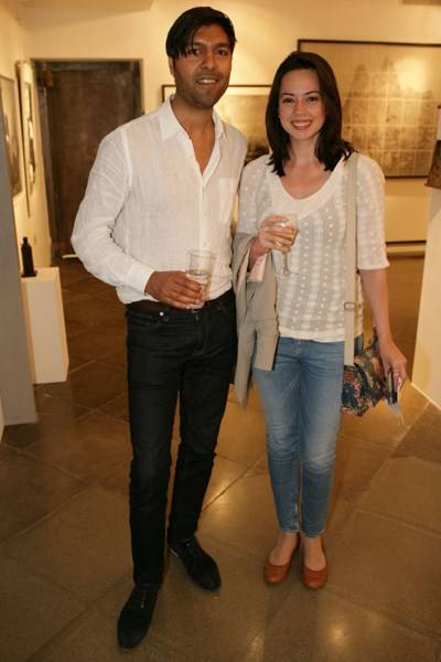 Umesh Patel and Alexandra Micha