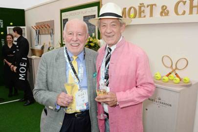 Richard Wilson and Sir Ian McKellen