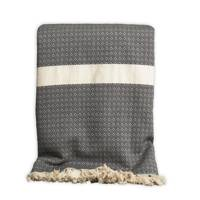 The Cotton Poet Henham throw