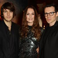 James Righton, Keira Knightley and Erdem Moralioglu