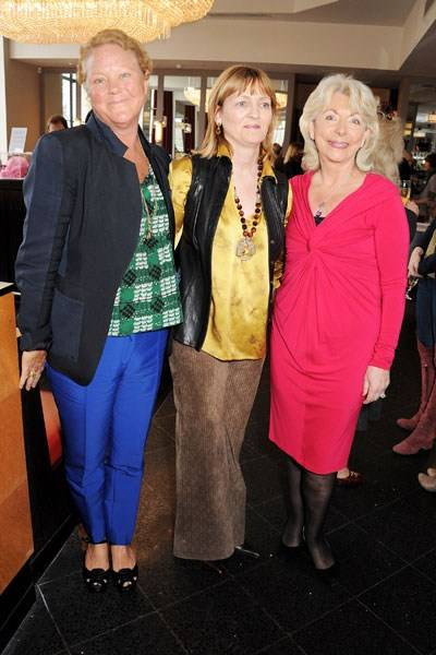 Caroline Collins, Clara Weatherall and Judy Naake