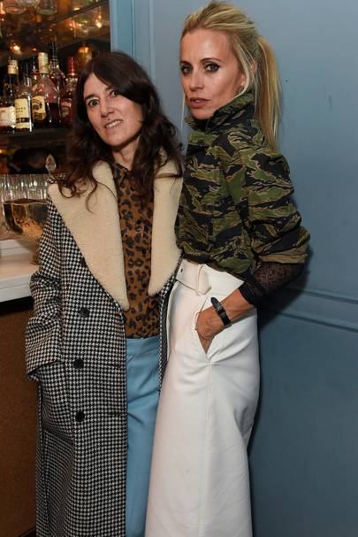 Bella Freud and Laura Bailey
