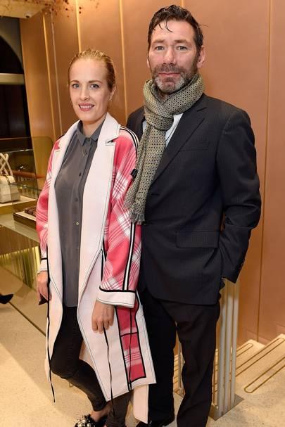Polly Morgan and Mat Collishaw