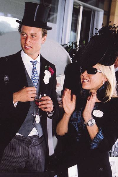 Olly Cole and Alice Bamford