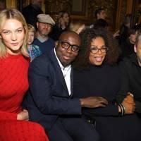 Karlie Kloss, Edward Enninful, Oprah Winfrey and Alasdhair Willis