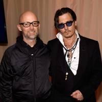 Moby and Johnny Depp
