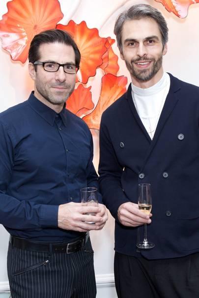 Markus Roggen (right)
