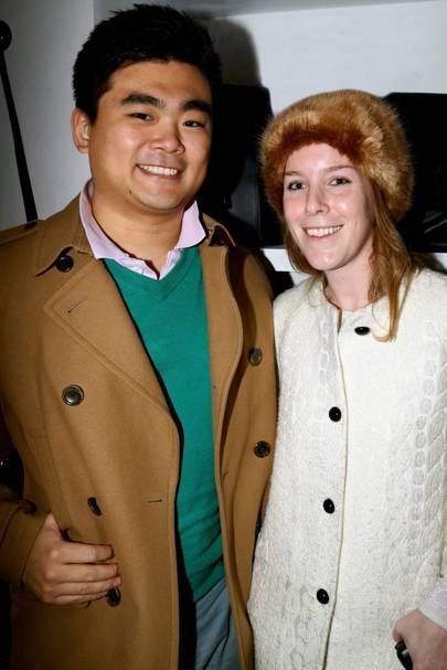 Shun Tamura and Gabrielle Rose