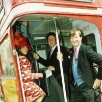 Mrs Robert Marsden-Smedley, Richard Milligan-Manby and Robert Marsden-Smedley