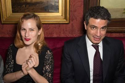 Charlotte Dellal and Tarek Khlat