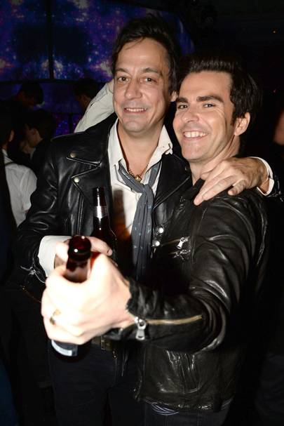 Jamie Hince and Kelly Jones