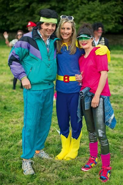 George Wade, Antonia Moffatt and Emma Wade