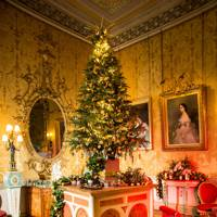 The yellow drawing room at Harewood