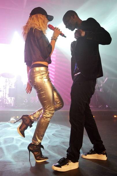 Rita Ora and Wretch 32