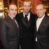 John Galliano, Alexis Roche and Jonathan Newhouse