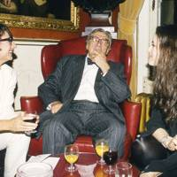 The Hon Mrs Lawson, Sir Robin Day and the Hon Nigella Lawson