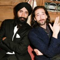 Waris Ahluwalia and Adrien Brody