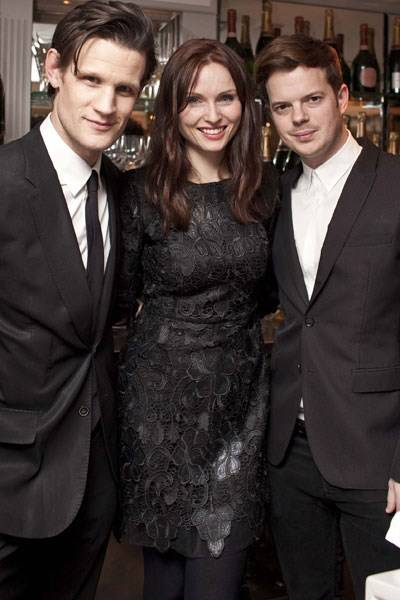 Matt Smith, Sophie Ellis-Bextor and Richard Jones