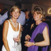 Countess Ludovico del Balzo and Mrs Luca Cumani